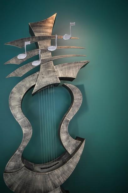 Musical Instrument Sculpture Free Stock Photo Public