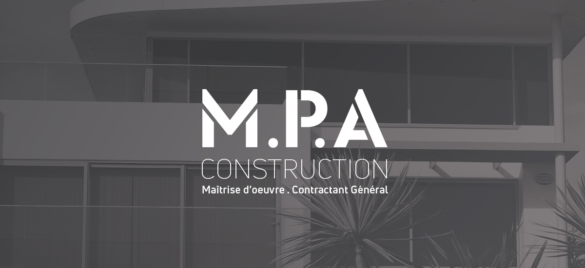 Logotype - M.P.A Construction