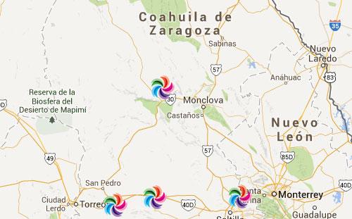 Mapa Mexico Estados Y Ciudades