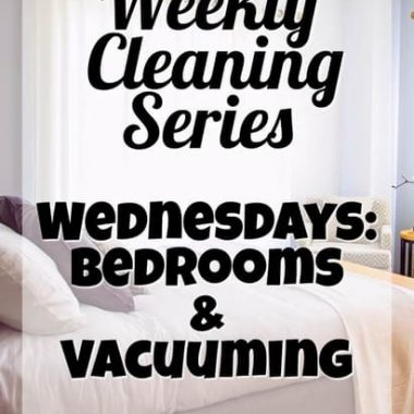 How to clean your room -- did your mom ever teach you? Let's vacuum, get out the clutter and create a peaceful place!