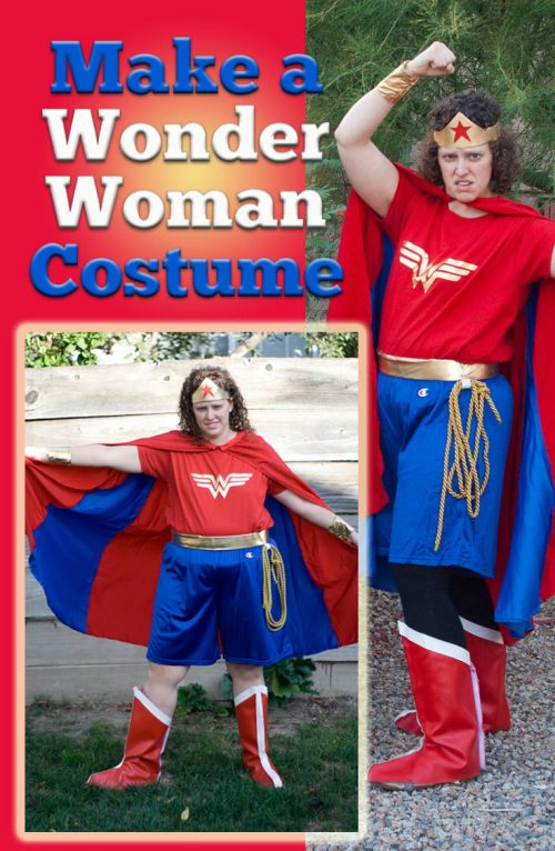 DIY Wonder Woman Cotume