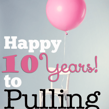 10 years of pulling curls. A big thanks to YOU my readers, and an update on where we are on the job front!