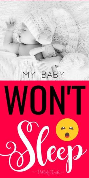 baby won't sleep