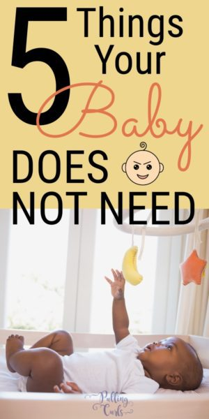 things you don't need for your new baby.