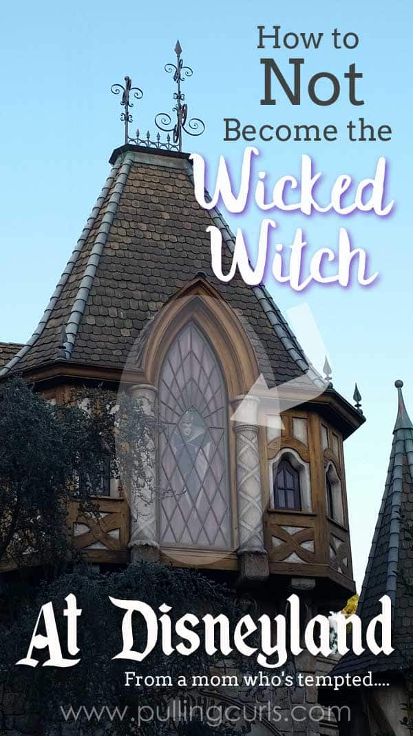 It is so easy to feel all the money you've spent on this vacation wasting away and become the wicked witch. But here are a few tips to stay more like the blue fairy. Dreams CAN come true. via @pullingcurls