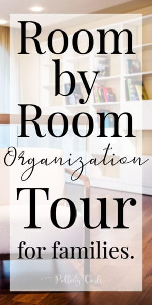 organize your home room by room