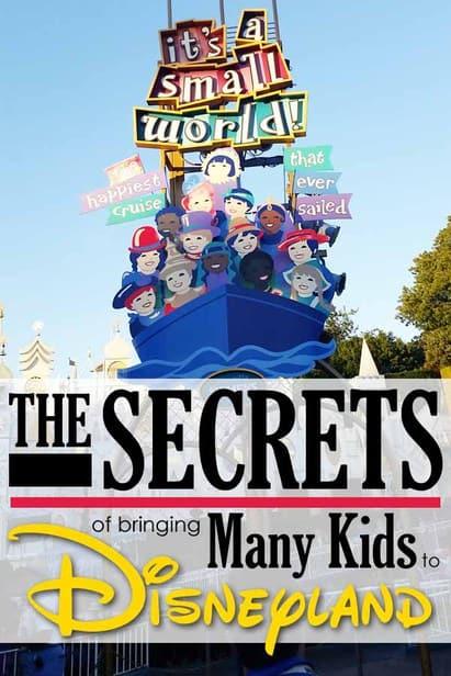 tips to taking kids to Disneyland
