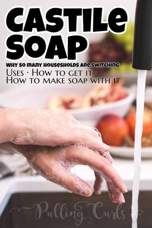 Casetile Soap uses vary widley -- shampoo, face wash, bodywash, laundry detergent, cleaner. You can easily DIY your favorite places!