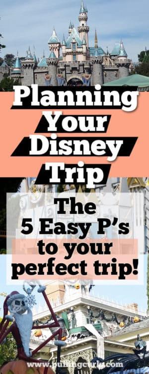 Disneyland Trip Planning / ideas / summer /tips / packing / budget/ hotel / first / planner / family/ hcecklist / kids / cost