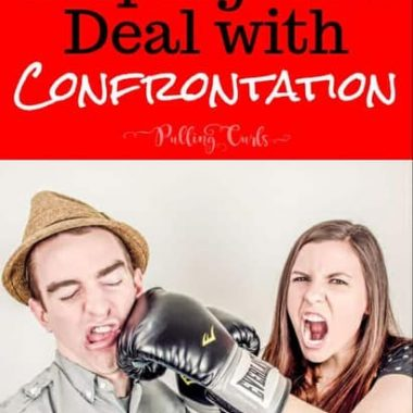 teaching children to deal with confrontation