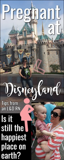 Disneyland while pregnant is totally doable, but there are a few things to keep in mind to prepare for before you go. As told by a Disney expert and an L&D nurse! via @pullingcurls