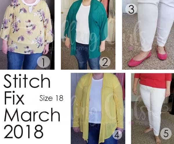 March 2018 Stitch Fix REview