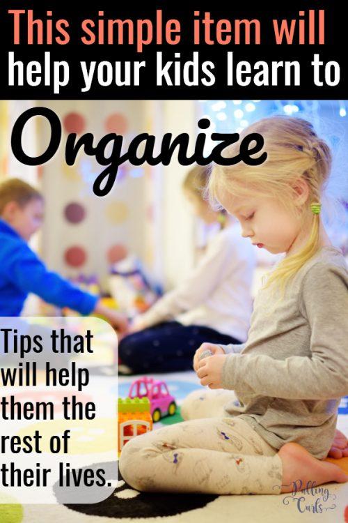 helping kids organize