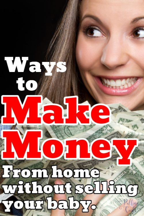 Ways for new moms to make money