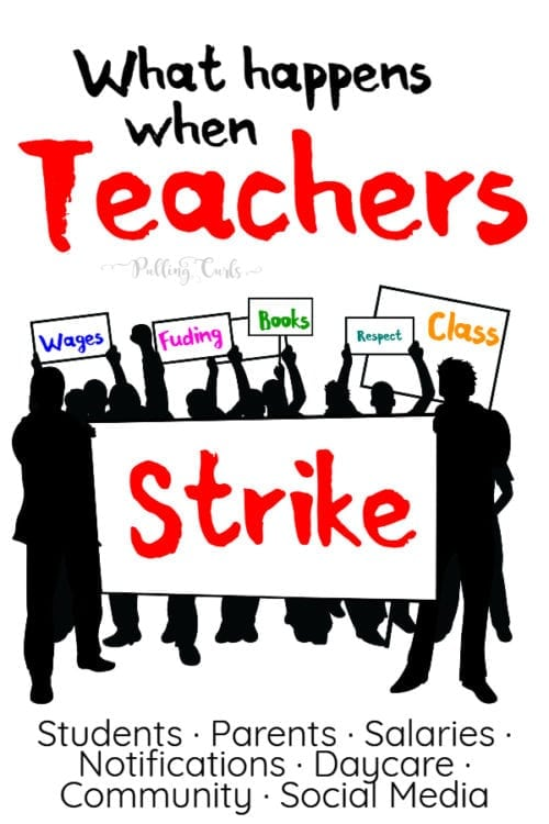 What happens to students when teachers go on strike?