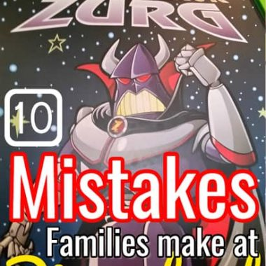 mistakes families make before Disneyland