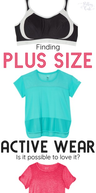 Finding women's plus size activewear is hard. You want to feel great when you work out and it's harder than it sounds to find the right fit. Well, I found a company and a sports bra that blew my mind. via @pullingcurls