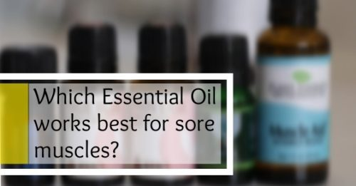 essential oils for joint pain