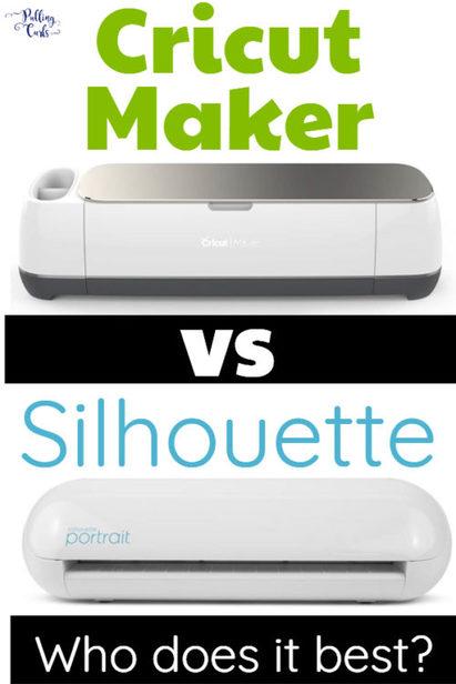 cricut vs the Silhouette