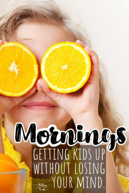 can you get kids up in the morning without a struggle?