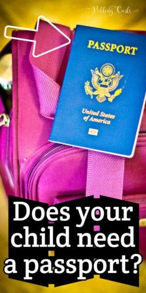 kid's US passport