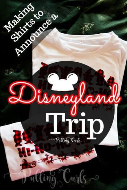 Disneyland Christmas shirts