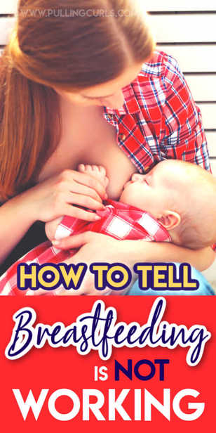 How can you tell if baby isn't getting enough to eat? via @pullingcurls