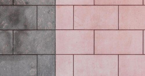 dirty tile floor / clean tile floor