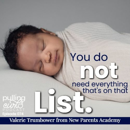 quote from show:  You do NOT need everything that's on that list.