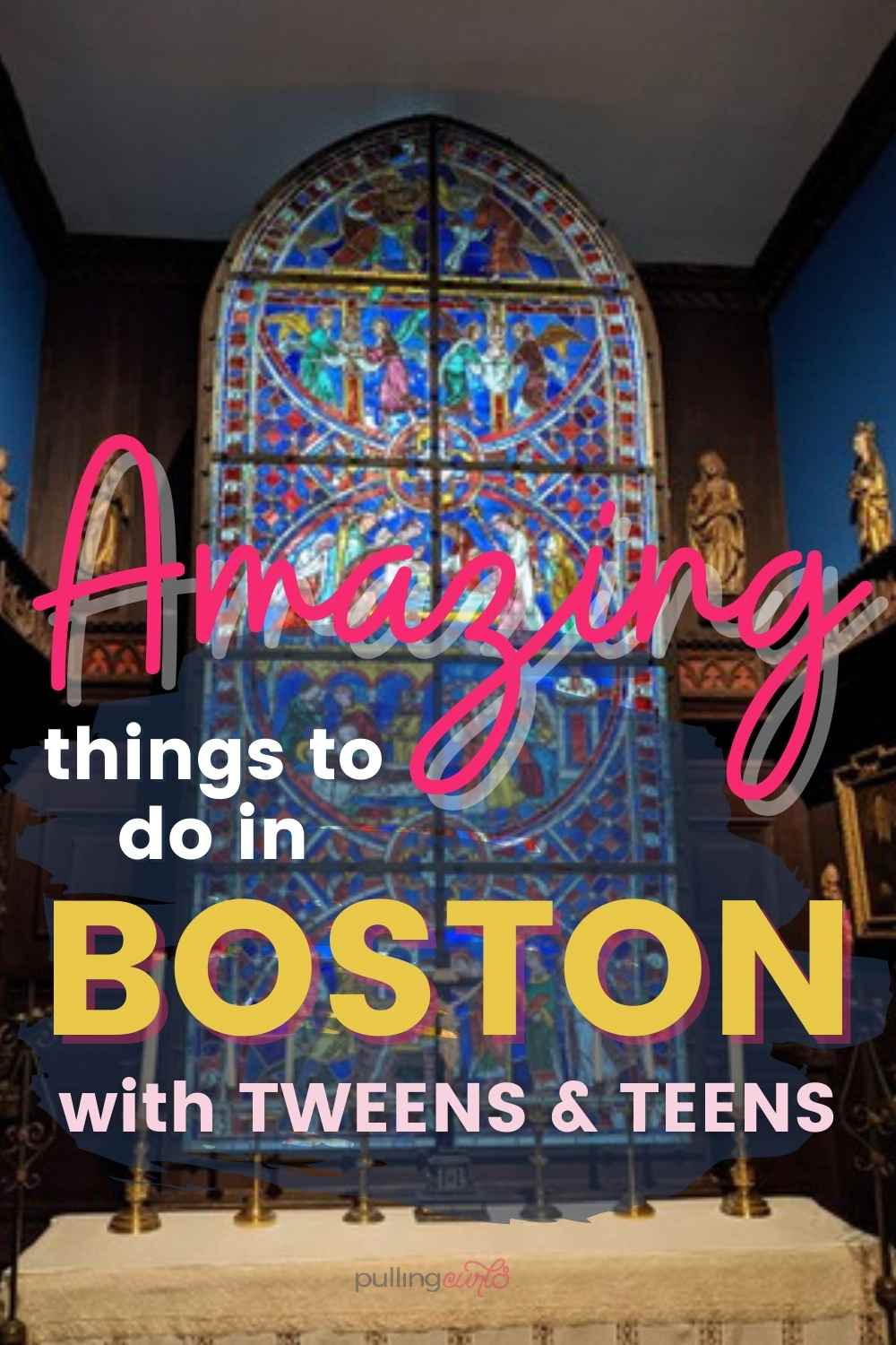 Going to Boston with Teenagers can be a SUPER fun trip. There are a lot of things to see and do, and my kids had a GREAT time! I'm also glad that we saved this trip til' our kids were a bit older and could understand more. via @pullingcurls