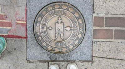 freedom trail medallion
