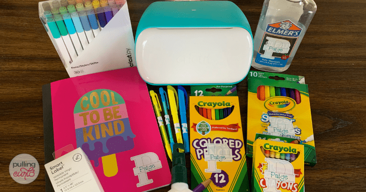 Personalize back to school supplies with Cricut Joy - header image