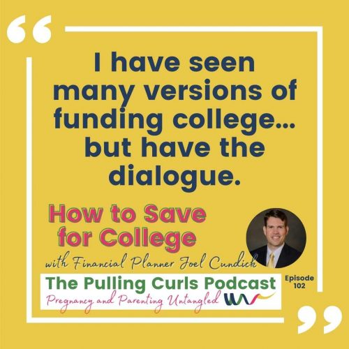 I have seen many versions of funding college... but have the dialogue