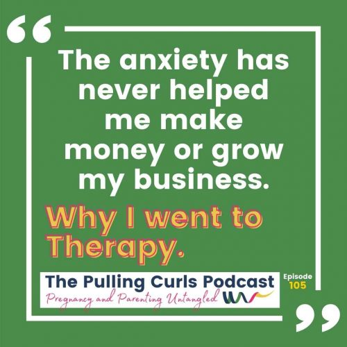 The Anxiety has never helped me make money or grow my business
