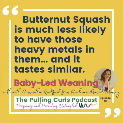 Butternut Squash is much less likely to have those heavy metals in them... and it tastes similar.