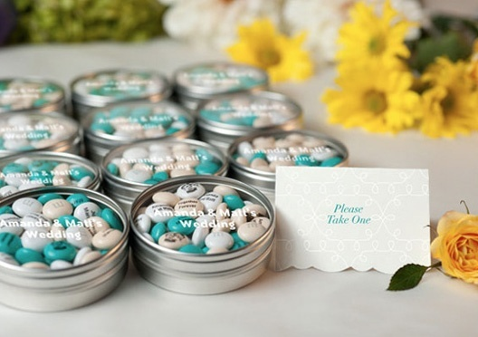 Affordable Wedding Reception Favors