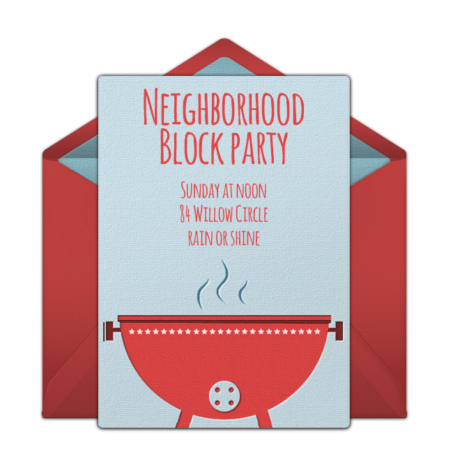 printable neighborhood block party flyers