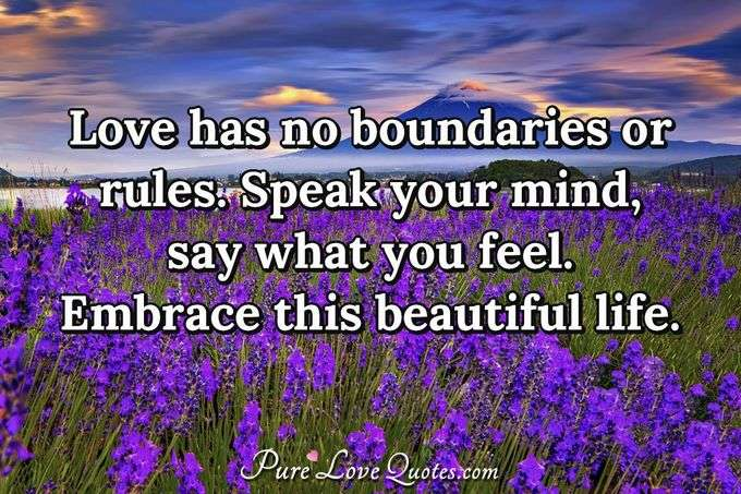 Love W Love 2 Boundries Quotes No