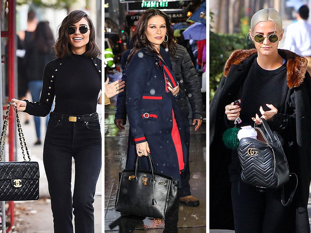 Celine Purse Leather Black