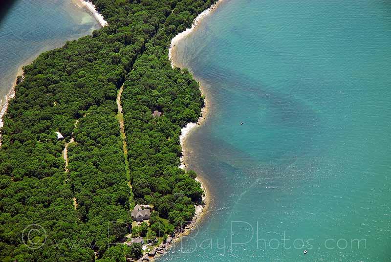 Kelleys Island Ohio Aerial Photos