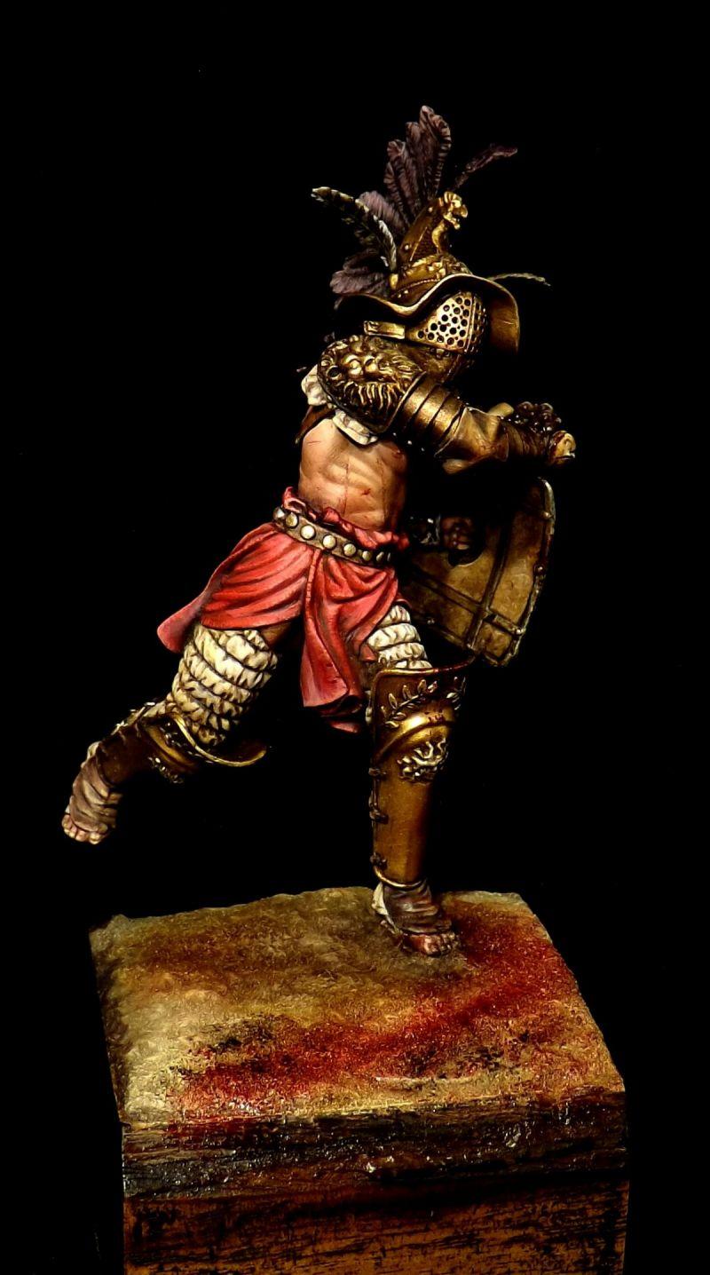 Thraex Gladiator 90mm By Fabio Naskino Fiorenza 183 Putty Amp Paint