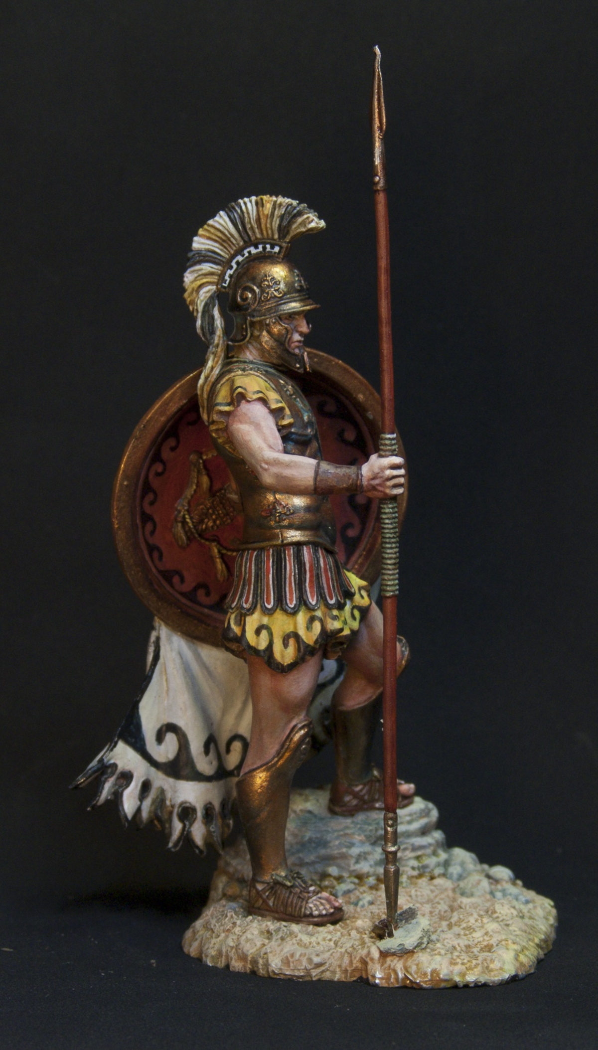 Greek Hoplite By Oxo Kod 183 Putty Amp Paint