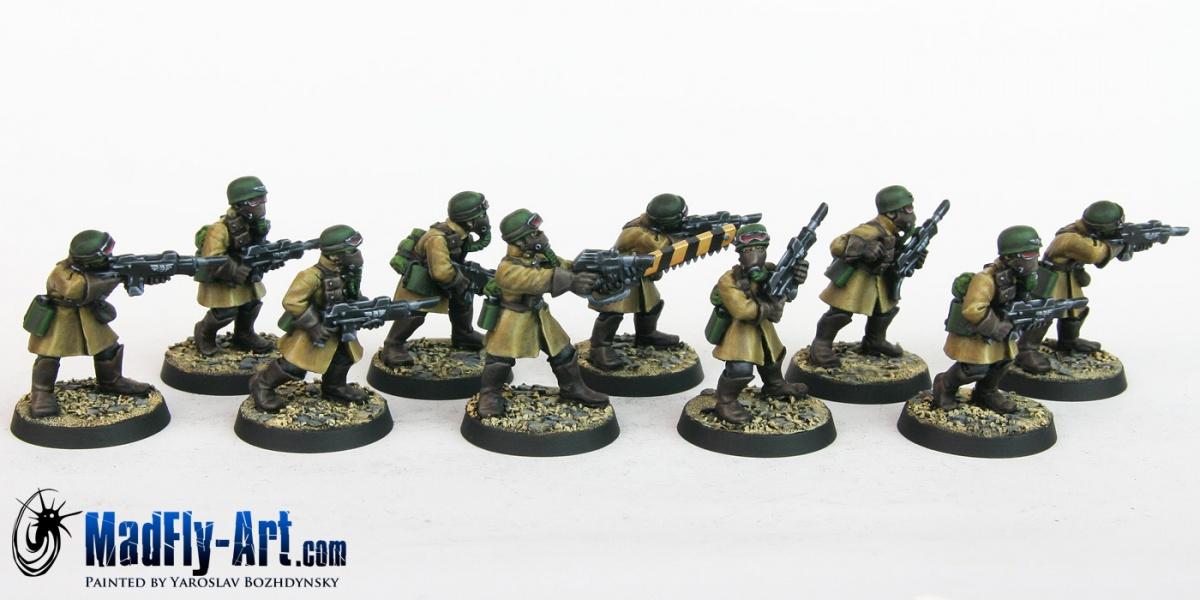 Steel Legion Infantry Squad 7 by Yaroslav Bozhdynsky ...