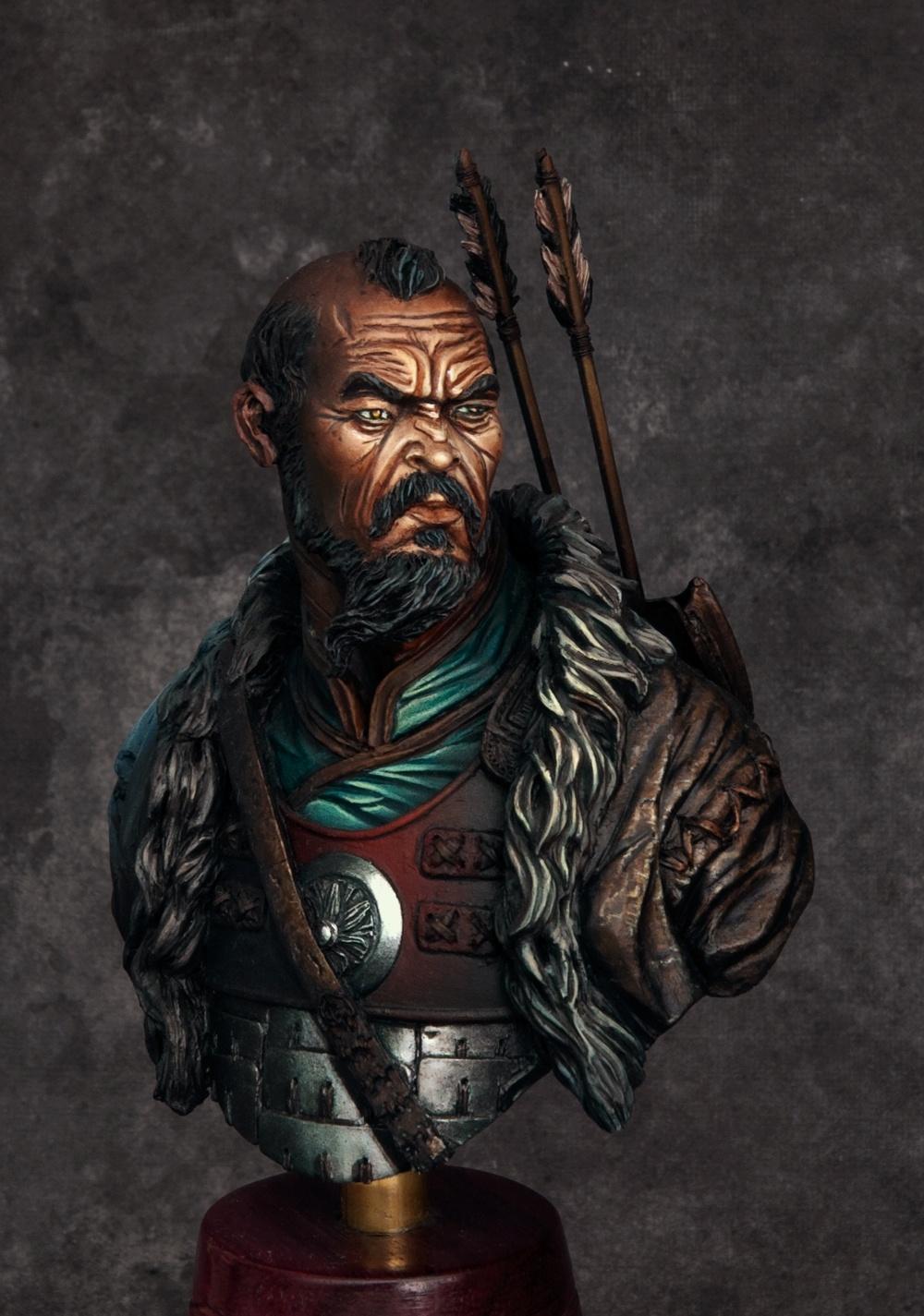 Mongol Warrior By John Quot Darkmessiah Quot Harrison 183 Putty Amp Paint