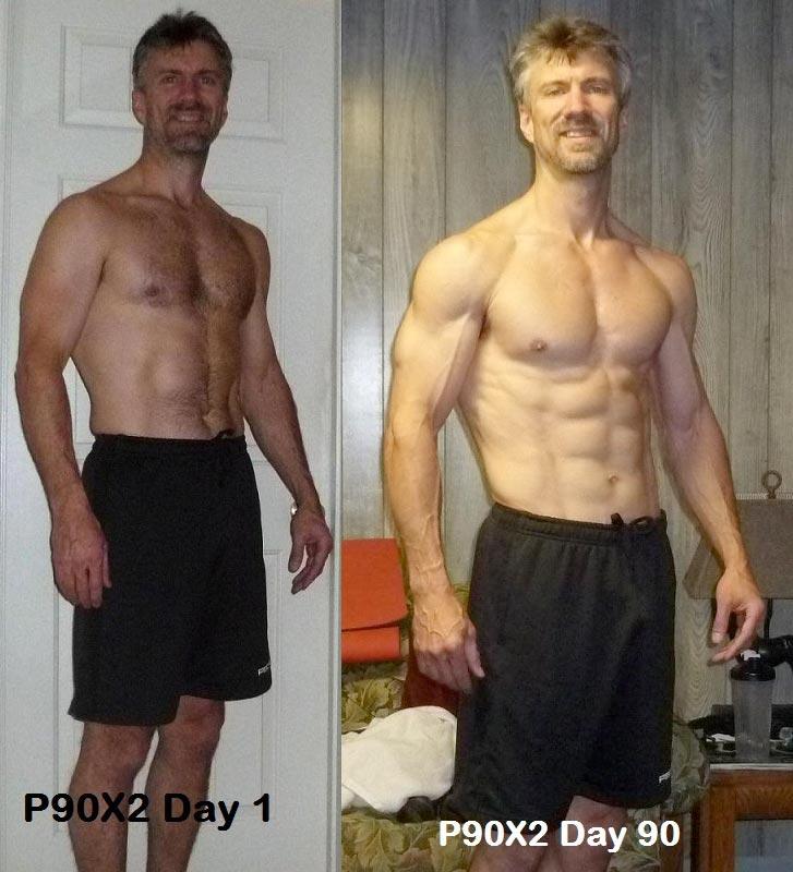 p90x2 results men - 727×800