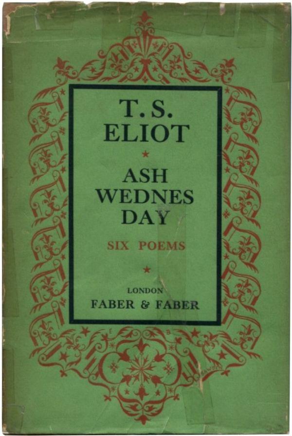 ash wednesday eliot # 1