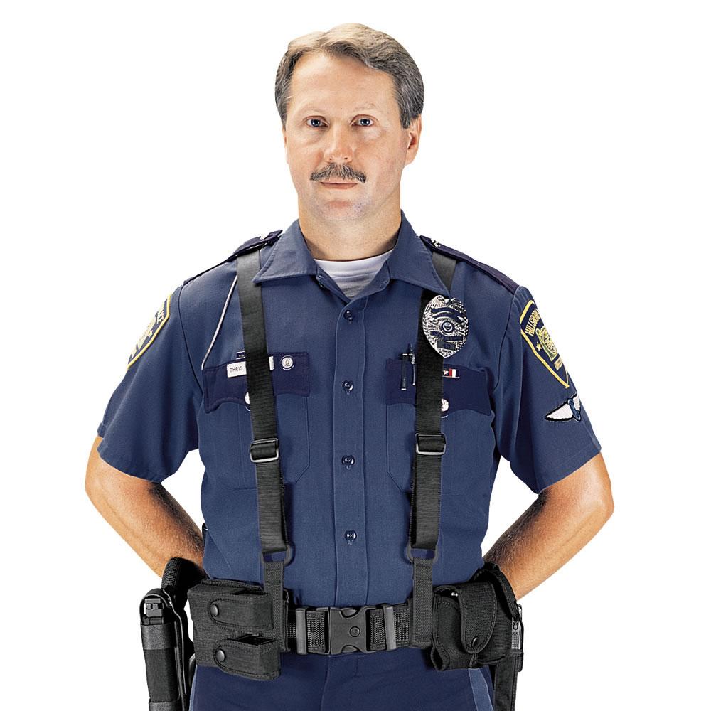 Police Suspenders Under Uniform