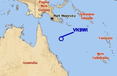 VK9WI Willis Island DXpedition 2000