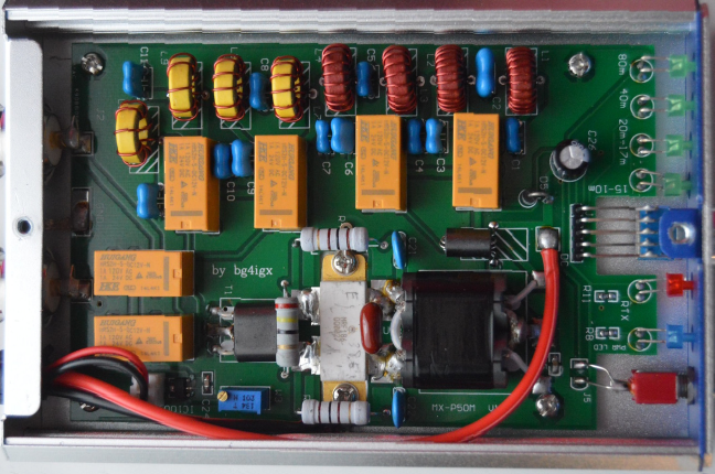Bg4igx Mx P50m Mrf 186 Hf Amplifier