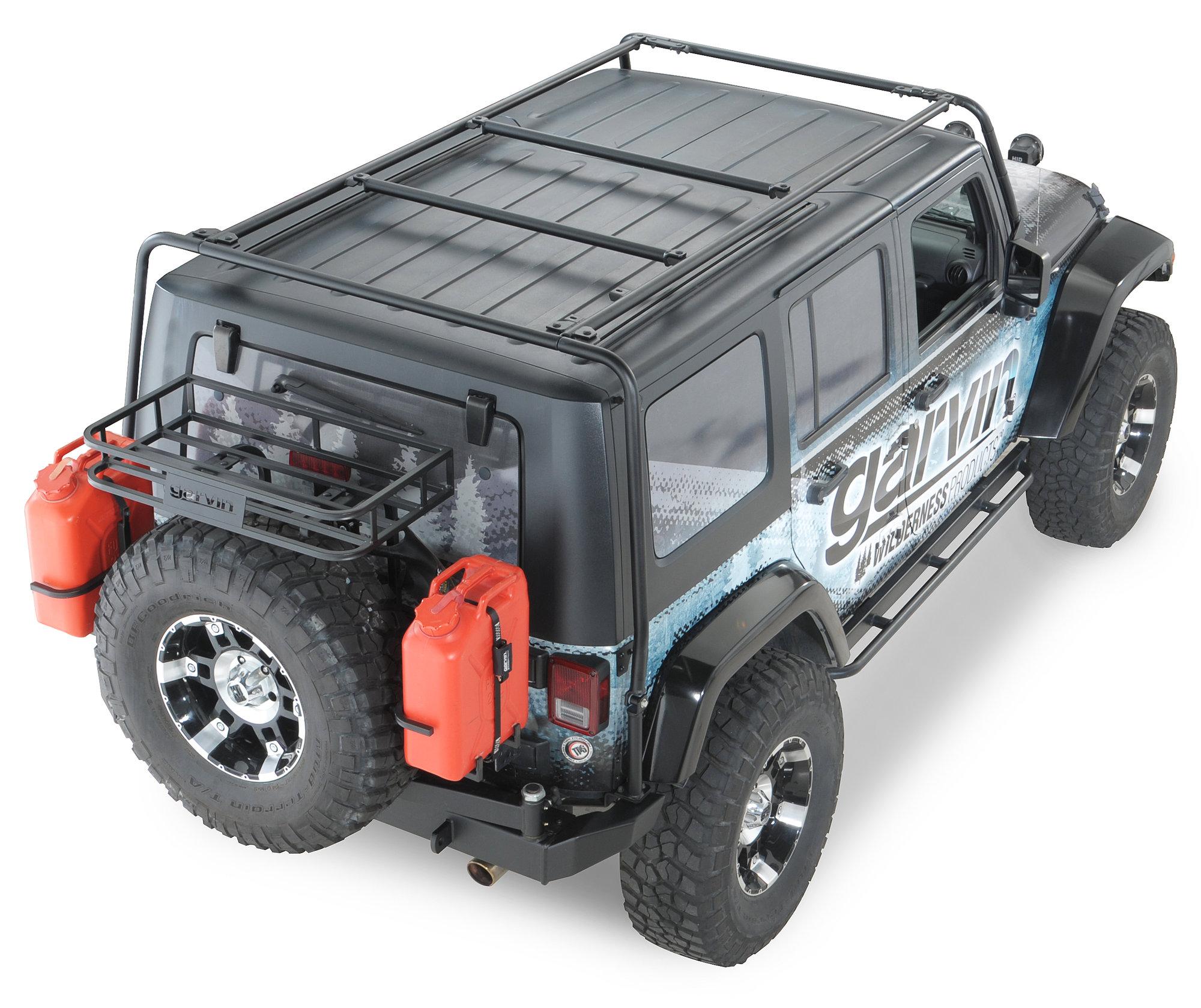 Jeep Wrangler Garvin Rack